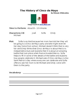 The History of Cinco de Mayo - Small Group Reader's Theater
