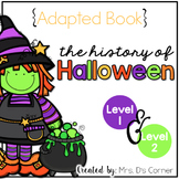 The History of Halloween Adapted Book ( Level 1 and Level