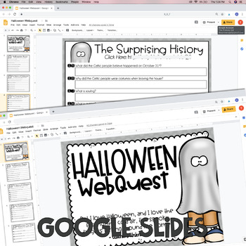 The History of Halloween Reading Comprehension Activity