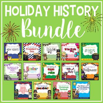 The History of Holidays Growing Bundle