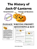 The History of Jack-O'-Lanterns Comprehension Passage and