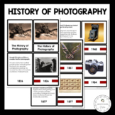 The History of Photography Timeline - Montessori 3-Part Cards