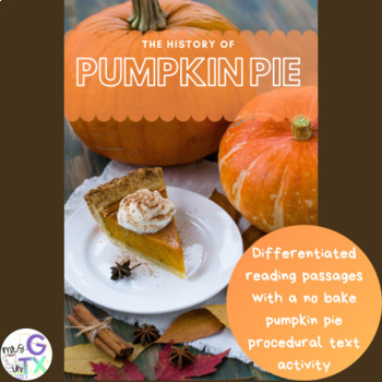 The History of Pumpkin Pie with no bake pumpkin pie recipe
