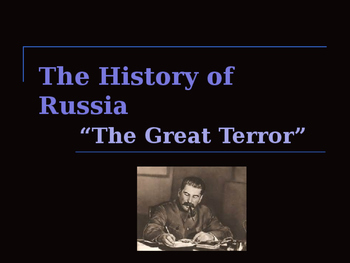 The History of Russia - The Great Terror