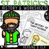 The History of St. Patrick - Story, Comprehension and Vocabulary+ AUDIO