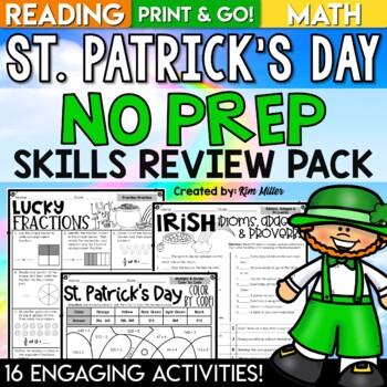 St. Patrick's Day Literacy Mini Unit