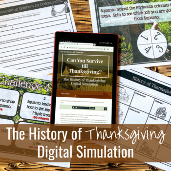 The History of Thanksgiving Digital Simulation
