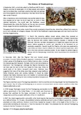 The History of Thanksgiving - Reading Comprehension Worksh