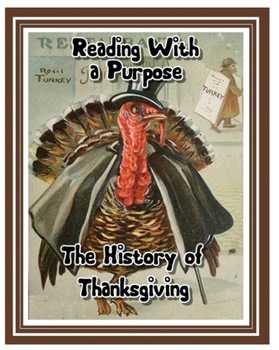 The History of Thanksgiving: 4th and 5th Grade Common Core by Reading Through History