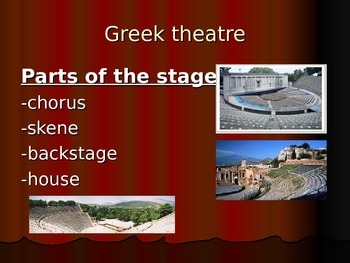 The History of Theatre Part I