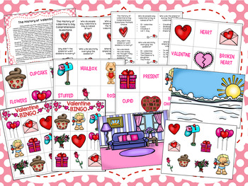 The History of Valentine's Day Comprehension Packet