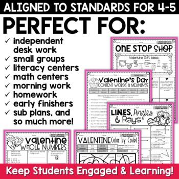 Valentine's Day Literacy Mini Unit