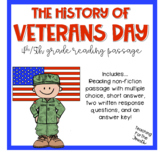 The History of Veterans Day Reading Passage