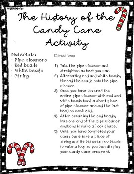 The History of the Candy Cane