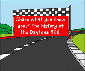 The History of the Daytona 500 Digital Research Project in Google Slides™