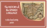 History of the Spanish Language Worksheet (in English)
