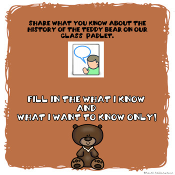 History of the Teddy Bear Digital Research Project in Google Slides™
