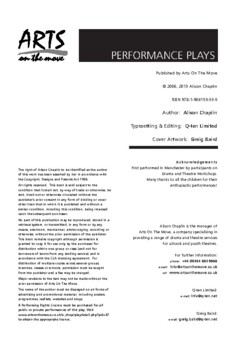 Drama Play Script, The History of the Theatre Part One! (World Theater, history)