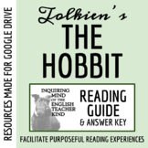 The Hobbit by Tolkien - Comprehensive Guided Reading Resource (Google Doc, PDF)