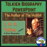 The Hobbit Author JRR Tolkien Biography PowerPoint