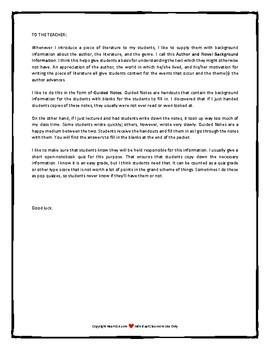 The Hobbit Author and Novel Background Information