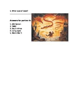 The Hobbit Background activity for ESL/ ELL