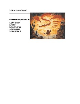 The Hobbit Background activity for ESL/ ELL