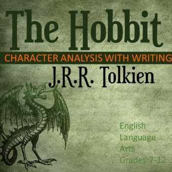 The Hobbit Character Analysis With Writing
