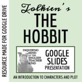The Hobbit Introductory PowerPoint - Character Traits, Conflicts, Development