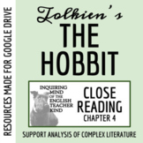 The Hobbit Close Reading of Chapter 4 - Distance Learning