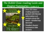 The Hobbit Close-reading Guide and Chapter Summaries—Grades 8-10