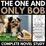 The One and Only Bob Novel Study Unit | Questions | Activities | Vocabulary