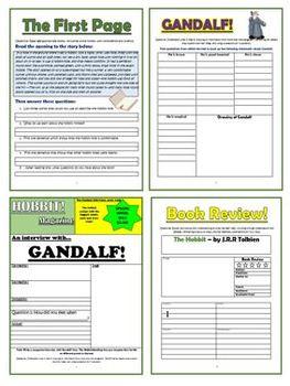 The Hobbit Comprehension Activities Booklet!