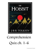 The Hobbit Comprehension Quiz ch. 1-6 & Answer Key