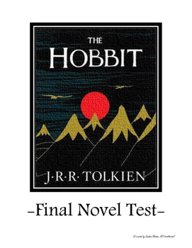 The Hobbit Final Novel Test & Answer Key