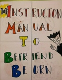 The Hobbit: How to Befriend Beorn-A mini-project on behavior and etiquette