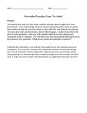 The Hobbit Informative/Expository Essay
