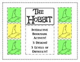 End of Year The Hobbit Interactive Bookmark Activity