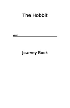 The Hobbit - Journey Book ANSWER KEY