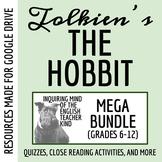 The Hobbit Mega-Bundle: Quizzes, Test, Project, Guide, Key