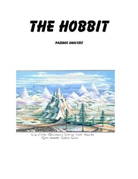 The Hobbit Passage Analysis