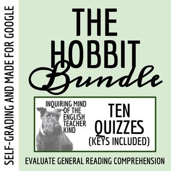 The Hobbit Quiz Bundle (Common Core Aligned)
