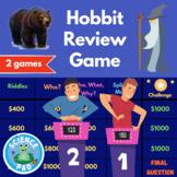 The Hobbit Review Digital Game | Trivia Activity | Novel S