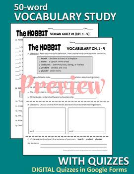 The HOBBIT Novel Unit Common Core Aligned