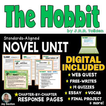 The HOBBIT Novel Unit Common Core Aligned