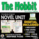 The HOBBIT Novel Study Unit - Print & DIGITAL Distance Learning -Standards Based