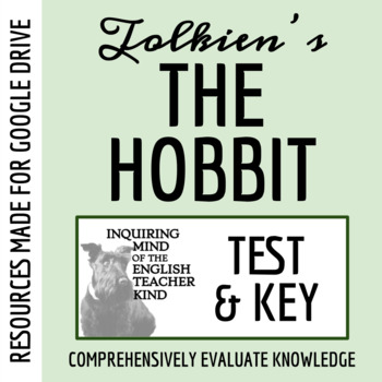 The Hobbit Test & Answer Key