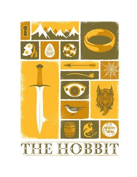 The Hobbit & The Hero's Journey (lesson plans and resources for Chapters 1-11)