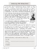 Hobbit, Lord of the Rings: Tolkien Biography Informational Texts Activities