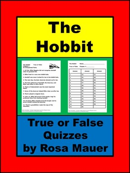 The Hobbit Quizzes